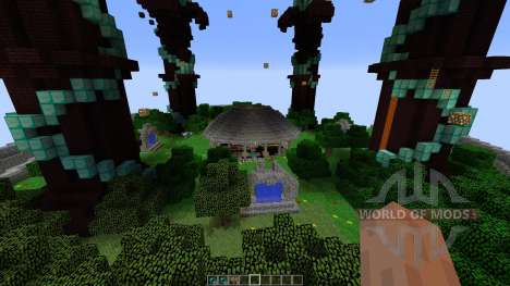 DRAGON THEMED MAJESTIC HUB für Minecraft