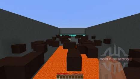 Lava Parkour für Minecraft