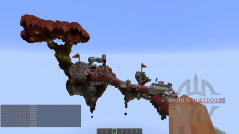 Fly over CTW Map pour Minecraft