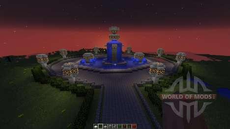 Creative Server Spawn für Minecraft