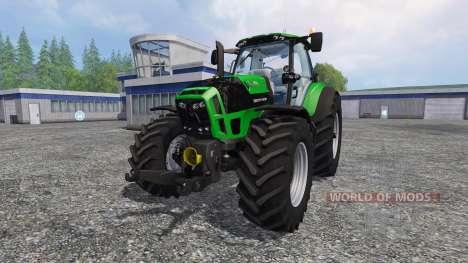 Deutz-Fahr Agrotron 7250 TTV v3.5 pour Farming Simulator 2015