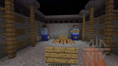 Trench War minigame für Minecraft