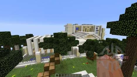 Modern Island Mansion für Minecraft