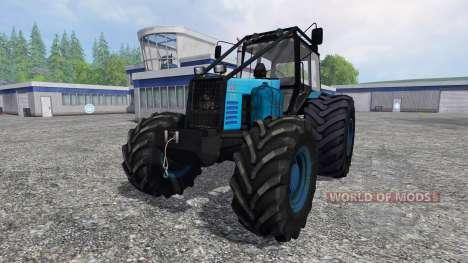 MTZ-1221 Biélorusse [forêt] pour Farming Simulator 2015