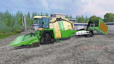 Krone Big X 1100 Hkl v2.0 pour Farming Simulator 2015