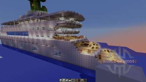 Megayacht für Minecraft