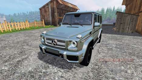 Mercedes-Benz G65 AMG pour Farming Simulator 2015