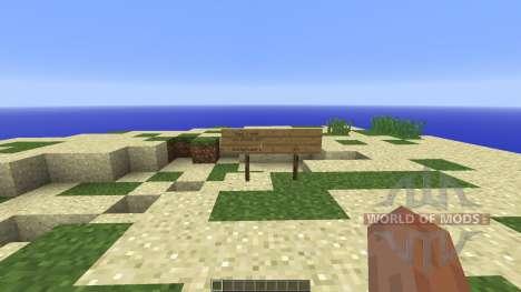 Survival Island STEVE STYLE pour Minecraft