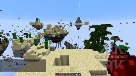Skylands Parkour für Minecraft