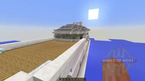 Yacht Ultra Modern für Minecraft
