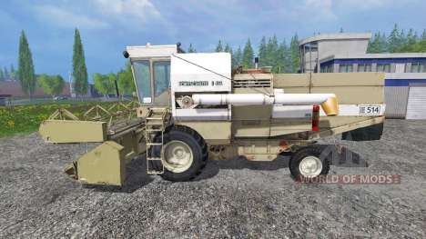 Fortschritt E 514 für Farming Simulator 2015
