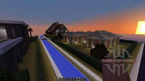 Village of Modern Houses pour Minecraft