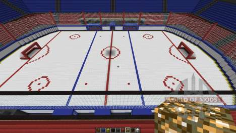 Oustanding Outdoor Hockey Arena pour Minecraft
