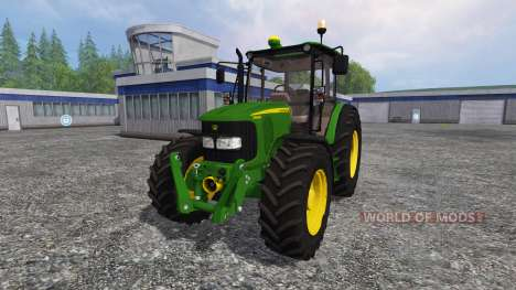 John Deere 5080M pour Farming Simulator 2015