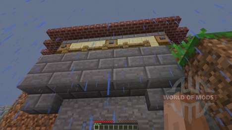 Jungle Mountain House für Minecraft