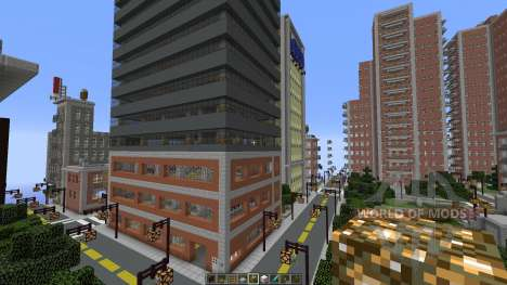 Liberty Craft City für Minecraft