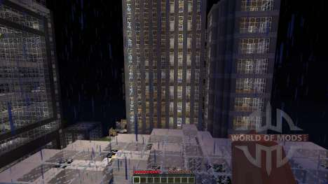 LeafCREEP City pour Minecraft