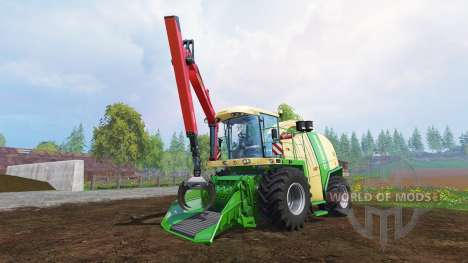 Krone Big X 1100 [crusher] v2.0 für Farming Simulator 2015