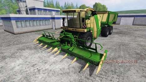 Krone Big X 650 Cargo v4.0 pour Farming Simulator 2015