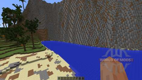 Tropical Island pour Minecraft