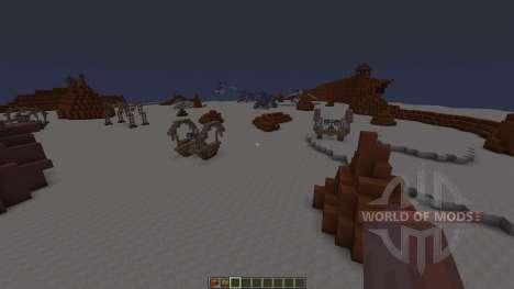 Star Wars Geonosis map für Minecraft