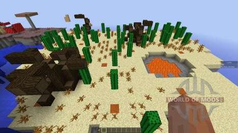 Forbidden Isles pour Minecraft