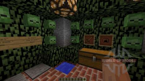 Zombie Survival Map für Minecraft