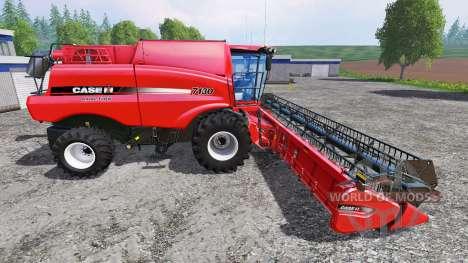 Case IH Axial Flow 7130 [multifruit] pour Farming Simulator 2015