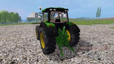 John Deere 6170R v3.5 pour Farming Simulator 2015
