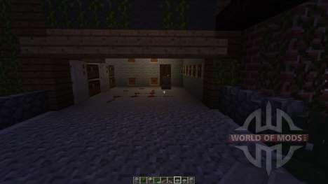Mountain Piston House für Minecraft