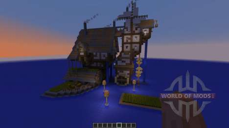 Small Flowing Steampunk Farm für Minecraft