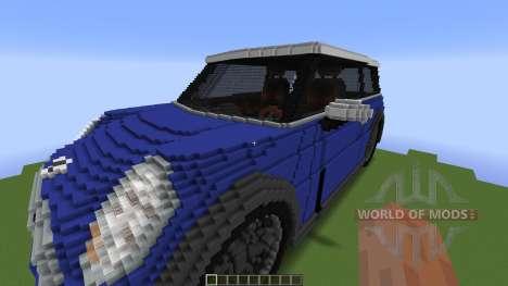 Mini Cooper pour Minecraft
