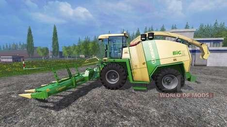 Krone Big X 1100 [rent] für Farming Simulator 2015