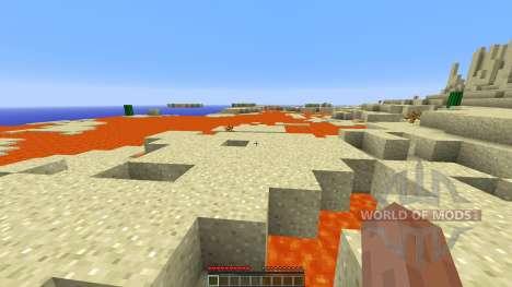 The Desert Survival pour Minecraft