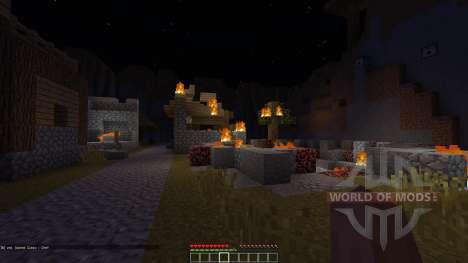 Village Survival Adventure Survival Map pour Minecraft