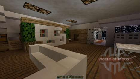 Sync A Small Modern House pour Minecraft