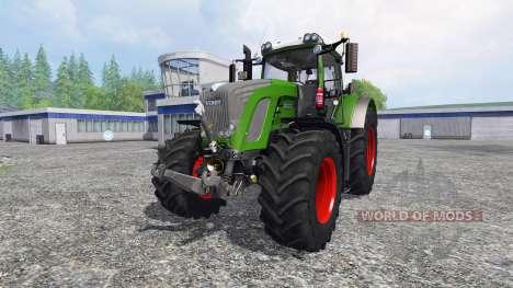 Fendt 936 Vario SCR avec le contrepoids pour Farming Simulator 2015