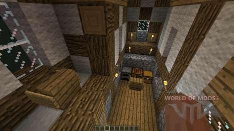 Small Medieval House für Minecraft