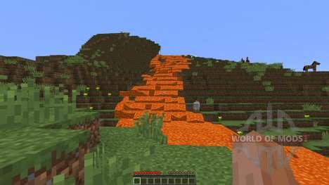 Giant volcano pour Minecraft