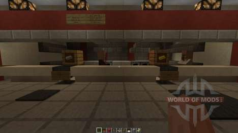 KFC Redstone powered pour Minecraft
