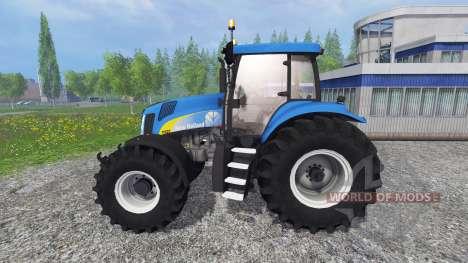 New Holland T8020 v4.5 für Farming Simulator 2015