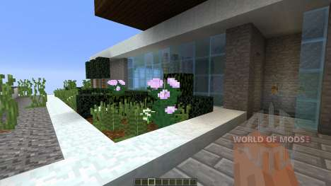 Fade A minimalist modern home pop reel pour Minecraft
