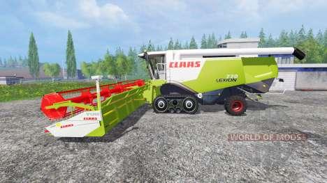 CLAAS Lexion 770TT pour Farming Simulator 2015