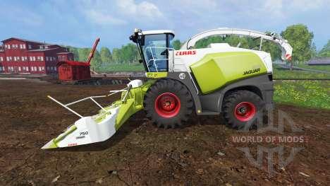 CLAAS Jaguar 870 pour Farming Simulator 2015