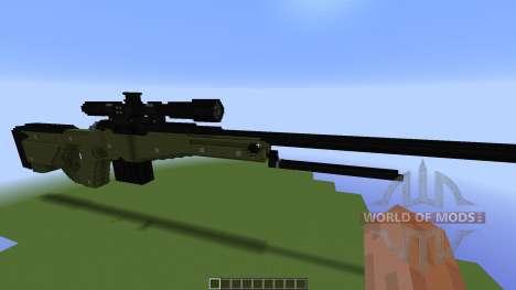 TNT Rifle: Awp für Minecraft