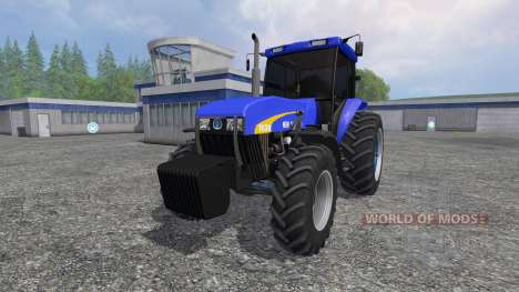 New Holland 7630 pour Farming Simulator 2015