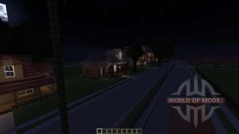 Hollywood California für Minecraft