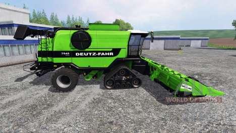 Deutz-Fahr 7545 RTS [green beast] für Farming Simulator 2015