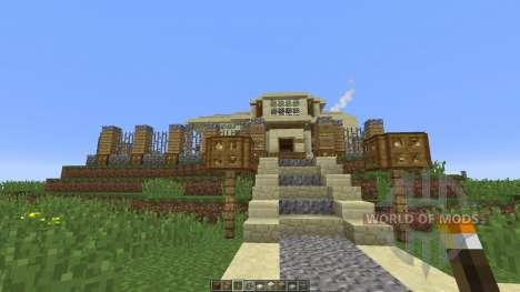 Modern Mansion xHollandia für Minecraft