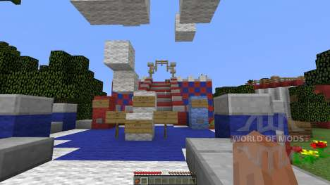 WIPEOUT pour Minecraft